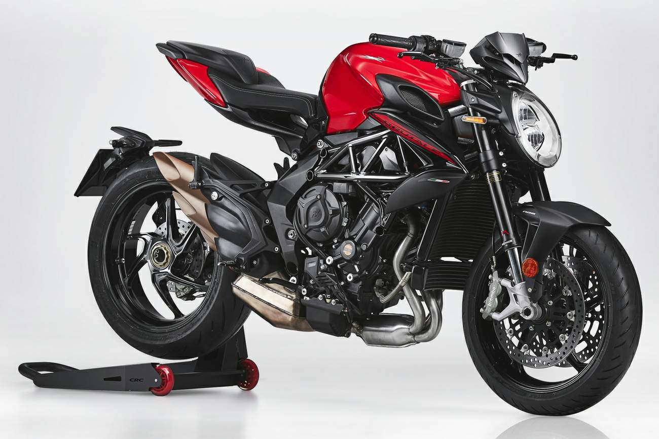 MV Agusta Brutal 800 Rosso technical specifications